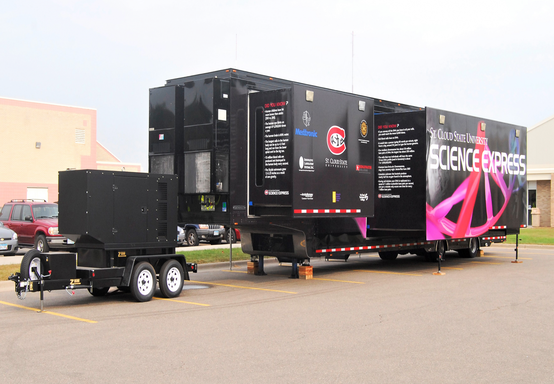Mobile Diesel Generator_St. Cloud University Project_ZBM
